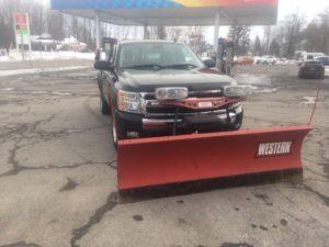 black plow truck 14