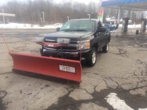 black plow truck 15